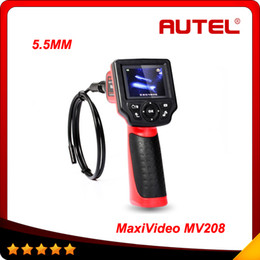 Wholesale rover diagnostic - 2015 High quality Autel Maxivideo MV208 Digital Videoscope 5.5MM inspection camera 100% original free shipping