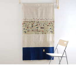 Wholesale Fixing Pocket Doors - Privacy Sheer Curtains for Bedroom Kitchen Window Casual Weave Wide Width Linen Look White Curtain Panels Coffe Curtains Free Shipping