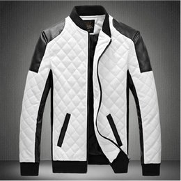Wholesale Men S White Leather Jacket - Fall-Mens Lether Jackets Genuine Leather Jaquetas Masculinas Inverno Couro Jacket Men Jaquetas De Couro Men's Winter Leather Jacket