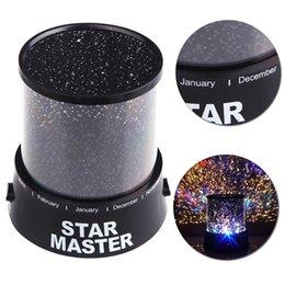 Wholesale Star Night Lamps - Hot Sale! Dreamlike Amazing Flashing Colorful Star Night Light Novelty LED Sky Star Master Night Lamp Projector Lamp