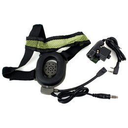 Wholesale U94 Ptt - Wholesale-New Arrival Z Tactical Bowman Elite II Headset with U94 Style PTT For The Kenwood Radios 2 Pin HD01 C2034A Eshow