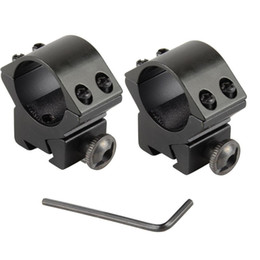 "Wholesale 11mm Mounts - 2Pcs Lot Scope Mounts Rifle Tactical Medium 1"" Scope Rings For Weaver Picatinny Rail 11mm VE205 SYSR"