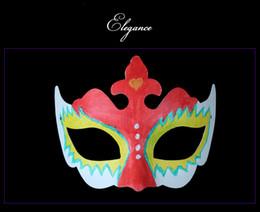 500 pcs Melhor Máscara DIY Pintados À Mão Dia Das Bruxas Branco Máscara Facial Zorro Coroa Borboleta Máscara de Papel Em branco Masquerade Partido Máscaras de Cosplay de