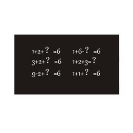 Wholesale Monthly Calendars - S5Q Diy Monthly Removable Chalkboard Calendar Decals Planner Mural Wall Stickers AAAFJY