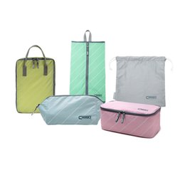 Wholesale Sets Traveling Bags - CHOOCI Five Colors Lightweight Traveling Handy Durable Multifunction Storage Bags Set for Business Trip with Five Separate Bags order<$18no