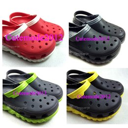 Wholesale Rubber Express - Wholesale- 2016 NEW Come Unisex Garden shoes Beach sandal Duet Express Casual Slip-on Shoes Cutemode Outdoors Antiskid water shoe big size