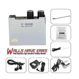 Wholesale Listening Devices Spy Ear Bug - High sensitive Spy ear bug listener Eavesdrop Wall audio Detection-CONTACT MICROPHONE F-999B F999B listening device,GSM bug