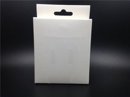 Wholesale Iphone 5c Usb Data Cable - Empty Retail Package Packaging White Box For Light Pin to USB Cable Charger Data Line Cord iPhone 5 5G 5S 5C 6 6S 7 Plus Cables Boxes