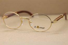 Décor monture de lunettes en bois pour femmes ou montures de lunettes pour hommes en bois Taille du cadre: 53-22-135mm ? partir de fabricateur