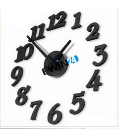Canada Adhésif Horloge murale DIY Mordern Design d'intérieur Décoration de chambre à coucher Bonne qualité Vente chaude facile à transporter supplier interiors for bedroom Offre