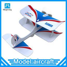 Wholesale Miniature Brand - Mini World's first Foam plane Uplane bluetooth 4.0 remote miniature accelerometer aircraft Remote Control Shatter Resistant Cruise