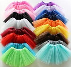 Wholesale Child S Tutu Skirt - cheap 2016 Hot sale Baby Tutu Skirt Colorful Candy Color Kids Tutus Skirt Children Free Shipping 10pcs lot