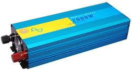 Wholesale Sine Wave Free Shipping - HOT!! 2000W 2KW pure sine wave power inverter  solar inverter 12vdc to 230vac Peak 4000w pure Inverter dhl fedex free shipping