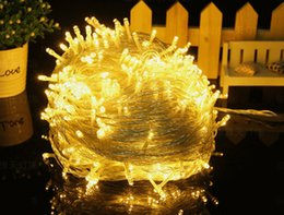Wholesale Out Door Lighting String - 2015Thermal Models Recommend Solar Lamp Series Of Out Door Christmas Lights String Led Twinkle Light Warm White Lights Christmas Party Weddi
