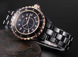 Wholesale Binger Watches - 2015 New Genuine original luxury Brand Mens watch ceramic Women quartz table BINGER slim and stylish for couple watches