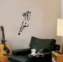 Australia Wild Horse Animals Wall Decals Vinyl Stickers Home Decor Living Room Decoration Bedroom Wallstickers Murals From Dropshipping Suppliers