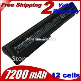 Wholesale Battery For Hp Pavilion Dv7 - Powerful Laptop Battery For HP Pavilion dv7t dv7t-1000 dv7z dv8 dv8-1000 dv8t dv8t-1000 dv7-1040ec dv7-1070ef dv7-1030eb 12cells