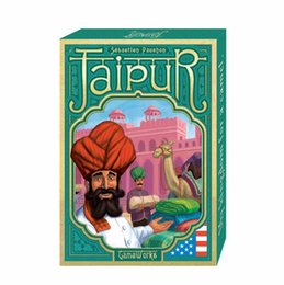Wholesale International Plays - new Full English Version board game Jaipur high quality best card game for family playing cards to 2 players