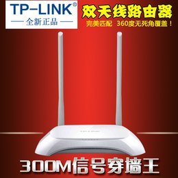 Wholesale Tl Wr842n - TP-LINK wireless router WiFi TL-WR842N 300M WiFi TP wireless wall wang wholesale