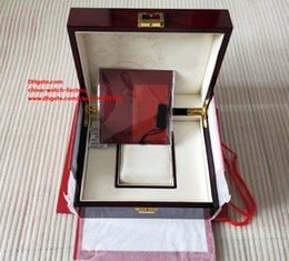 Wholesale Red Paper Gift Bags - Luxury High Quality PP Brand Watch Original Box Papers Card Wood Gift Watch Boxes Bag For Nautilus Aquanaut 5711 5790 5719 5980 Watches