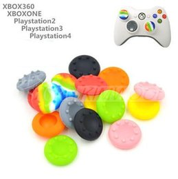 Wholesale Wholesale Outlet Covers - Thumb Stick Grip Cap Cover For PS3 PS4 Xbox one Xbox 360 Controller sillicone cap factory outlet