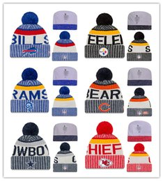 Wholesale Top Quality Beanies - Top Selling 2017 Newest Beanies Football Knit Hats Sports Cap The City Cap Mix Match Order All Caps in stock Top Quality More 5000+Styles