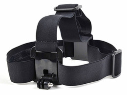 gopro sports Promo Codes - Gopro Accessories Elastic Adjustable Nylon Head Strap Belt Head Band Mount Adapter for Camera HD Hero 1 2 3 3+ sj4000