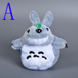 Wholesale Video Game Collectibles - 10pcs Lovely My Neighbor TOTORO Plush Toy 2016 New Fashion Hot Style Smile Totoro Stuffed Collectibles Doll Toys Japan Anime Totoro Baby Toy