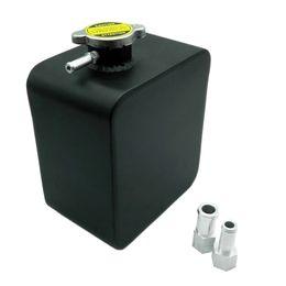 Ausgleichsbehälterdeckel online-Neue 2L Liter Polierte Aluminiumlegierung Header Expansion Wassertank Cap Wasser Header Tank Kühlmittel Überlauf Tank Reservoir Kit