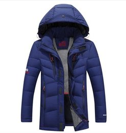 Wholesale 3xl North Face - Free shipping Winter new North thickening men's down jacket Teenage clothing Slim face men short paragraph