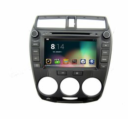 """Wholesale Car Dvd Digital Panel - 8"""" digital panel dual core android system two din car DVD player for HONDA City with GPS and WIFI"""