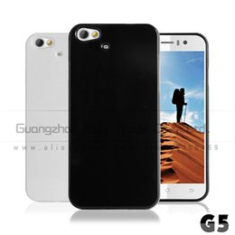 Wholesale Wholesale Jiayu - Wholesale-1pcs lot Black and white TPU Case Cover for jiayu g5 G5S phone MTK6592 with free screen protetcor