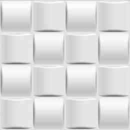 Diseños de papel tapiz para dormitorios online-Impermeable Nuevo diseño Europa Panel de pared de PVC en relieve a prueba de humedad 3d para el dormitorio 50 * 50 CM de alta calidad antiestático arte 3d Wallpaper 12PCS