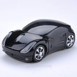 Wholesale Fashion Computer Mouse - wireless mouse fashion super car shaped mouse 2.4Ghz optical mouse for pc laptop computer Shipping XDA1057