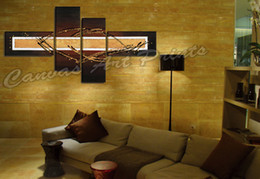 Wholesale Modern Paintings Framed - Modern Home Decor Canvas Art Painting Abstract Lines Wall Decorative Painting Pictures Canvas Wall Art Painting Framed for Room Decoration