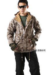 Wholesale G8 Windbreaker Jacket - Fall-military tactical jacket for men Desert Digital G8 windbreaker jacket windbreaker fleece liner ACU outdoor casual jacket