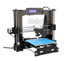 Wholesale 3d Stl - 2016 New Upgrade desktop 3D Printer Prusa i3 Size 200*200*180 mm Acrylic Frame LCD 8G TF Card for gift (big main board)