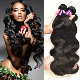 Wholesale Hot Companies - Hot Bellqueen Unprocessed Hair 8A Brazillian Hair Body Wave Grace Hair Company Brazilian Body Wave Cheap Human Hair Weave 4 Bundles