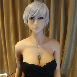 Wholesale Silicone Sex Dolls For Sell - Asian woman Hot Sell High quality 2017 new stype 165cm huge breast sex doll real adult full silicone shemale sex doll for men