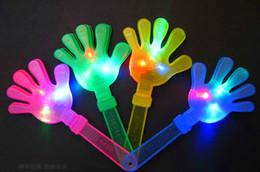 2019 brinquedo dançando spiderman 24 cm puntelli di acclamazione Ícone emissor fluorescente palmo della mano clap clap clap aplauda puntelli flash Clap suas mãos