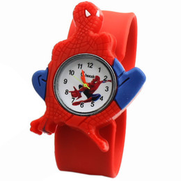 Canada Enfants Q édition nouvelle édition de la montre en gros étudiant bande de la montre en caoutchouc spider man montre Offre