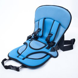 Wholesale red harness - Children Safety Seat Baby Seats Booster Cushion Harness Carrier for Baby Kids Infant 5 p l
