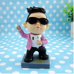 Wholesale Gangnam Style Gifts - Free Shipping Cute Gangnam Style Funko POP Action Figures,Mini PVC Action Figure Toys Birthday Children Kids Doll Gifts