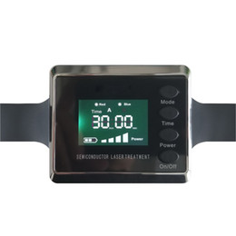 Wholesale Laser Blood Therapy - Free DHL Lower Blood Pressure And Diabetes Laser Therapy Watch