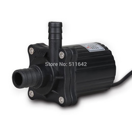 Wholesale Centrifugal Submersible Pump - DC 12V DC40-1250 Electric Brushless Magnetic Drive Centrifugal Submersible Water Pump CPU Cooling Fountain 500L H 5.0M 12.0W