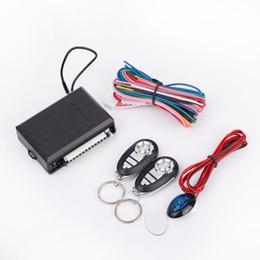 sistemas de alarma de gas Rebajas Universal Car Auto Remote Central Kit Door Lock Bloqueo de vehículo Keyless Entry System con control remoto