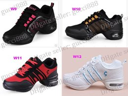 Wholesale Brown Dancing Shoes - FREE SHIPPING new Women Sports Shoes Fashion Canvas shoes Fitness Upper Modern Jazz Hip Hop Sneakers Dance canvas shoes shoe