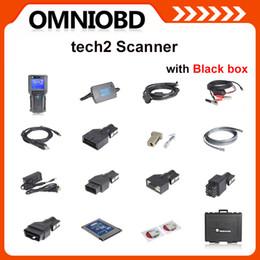 Wholesale Tech Diagnostic Scanner - DHL Free Shipping Tech2 DiagnosticTool forGM SAAB OPEL SUZUKI ISUZU Holden for choice Vetronix gm tech 2 scanner InterfaceWith Plastic Box