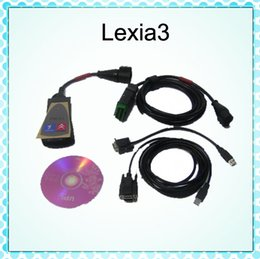 Wholesale Lexia Free Shipping - 2015 Newest Lexia 3 V48 PP2000 Lexia3 Professional Diagnostic tool For Citroen with free shipping and good quality