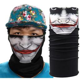 2019 bufanda del airsoft Wholesale- New Outdoor Sports Cycling Face Mask Warmer Cycling Bike Bicycle Riding Head Scarf Halloween Scarves Bandana #EW